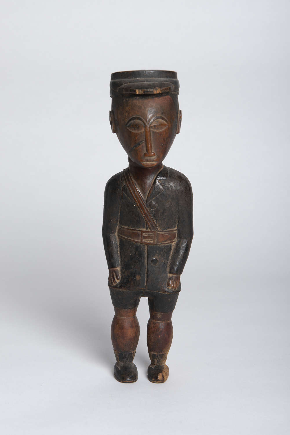 AFRICAN COLONIAL FIGURE