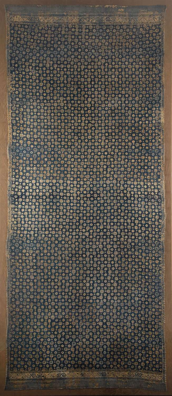 Gold leaf shoulder cloth. Palembang, Sumatra. 19th Century